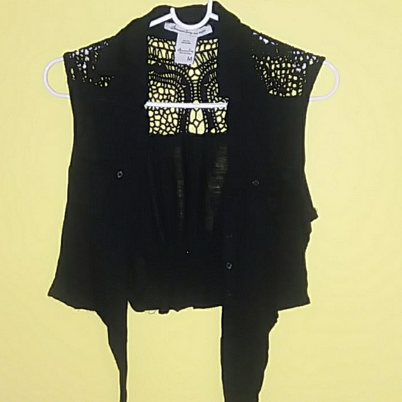 American Rag Tops - Junior  belly shirt